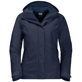 Jack Wolfskin Iceland Voyage 3in1 Jacket Women midnight blue